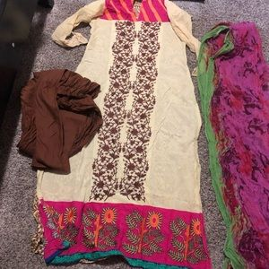 Pakistani charizma 3 piece dress